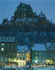Fairmont Le Chateau Frontenac stands sentry over Old Quebec City.