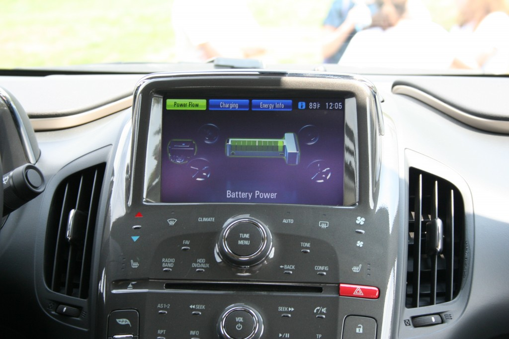 Interior Panel of Chevy Volt (c) image by Shannon Hurst Lane
