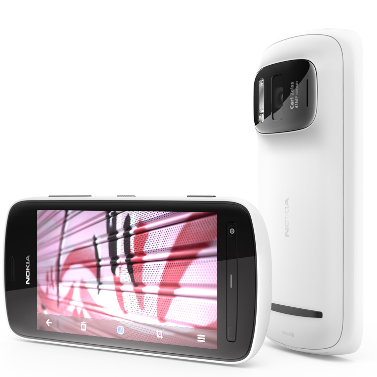Nokia introduces Sexy 41MP Sensor HD 1080p video Smartphone 808 PureView at #MWC12 #NokiaMWC